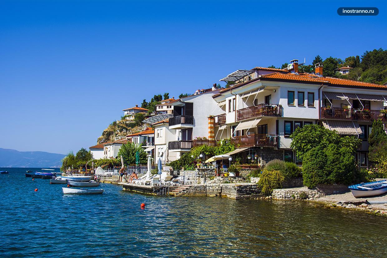 Аренда виллы у озера в Охриде