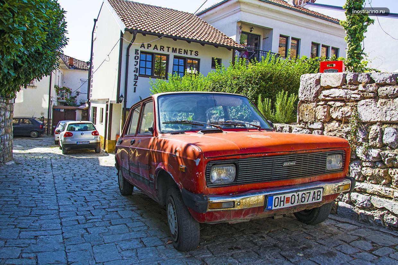 Сербские ретроавтомобили