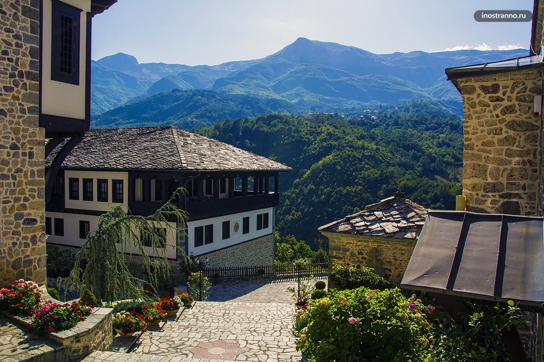 Бигорский монастырь в Северной Македонии