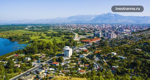Албанский город Шкодер, крепость Розафа и потрясающий горный серпантин