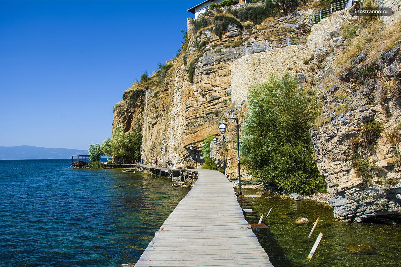 Прогулка по Охридскому озеру
