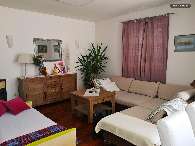 Красивые апартаменты в Дубровнике