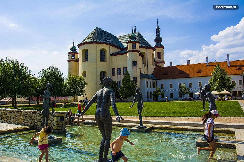 Замковый сад в Литомишле