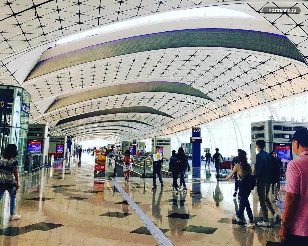 Аэропорта в Гонконге как выглядит изнутри
