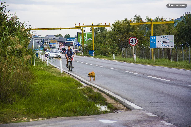 Адриатическое шоссе в Черногории