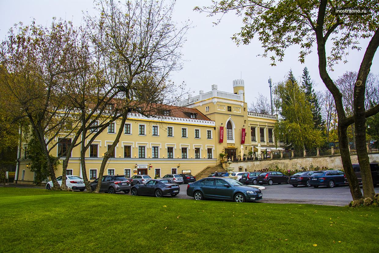 Замок Крч в Праге