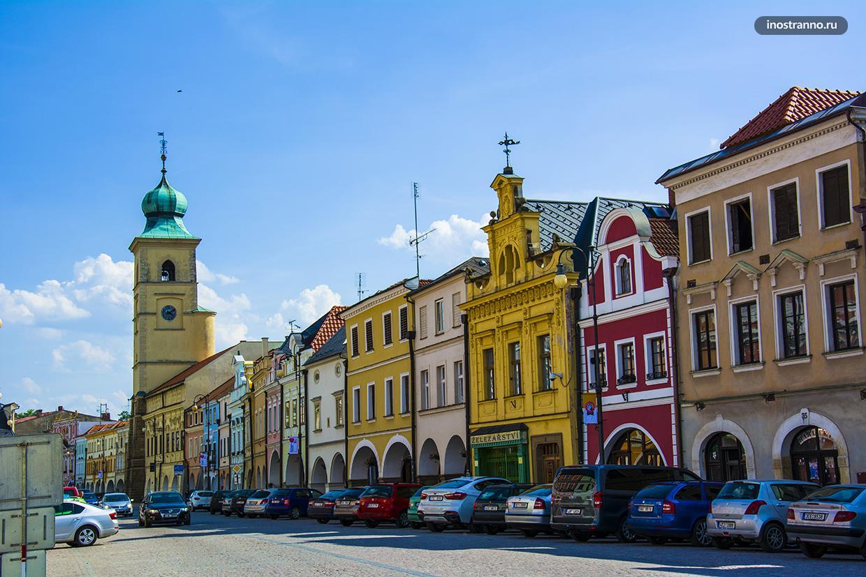 Центральная площадь Литомишля