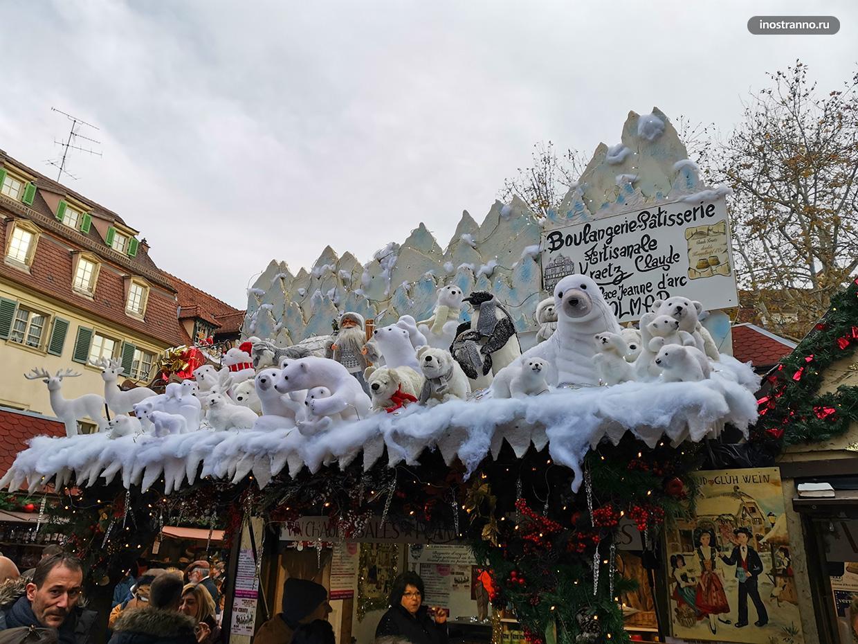 Новогодние украшения и декорации
