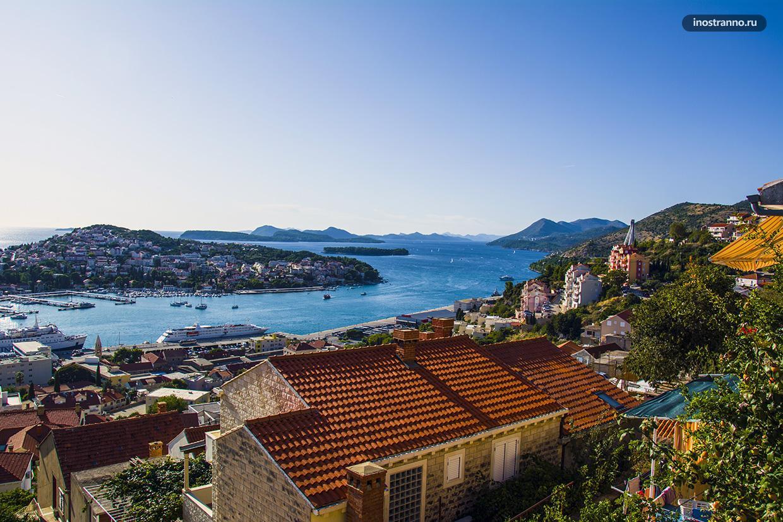 Порт Дубровника фото