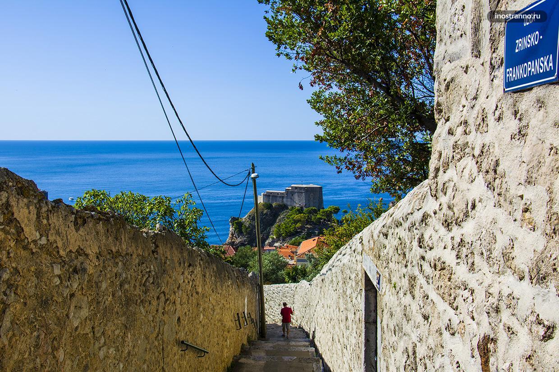 Ступеньки в Дубровнике