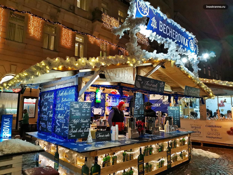 Новогодние украшения Будапешта