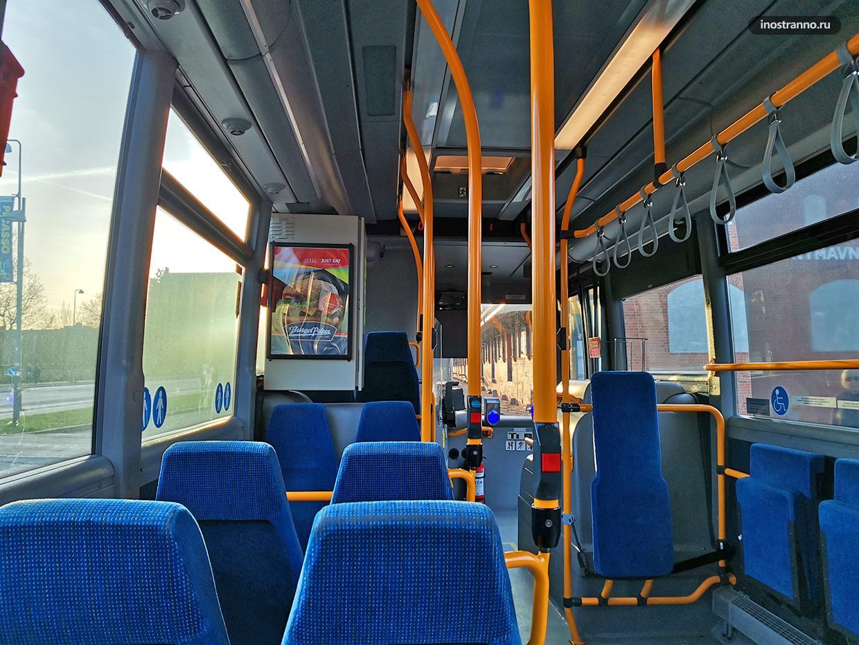 Городской автобус в Дании