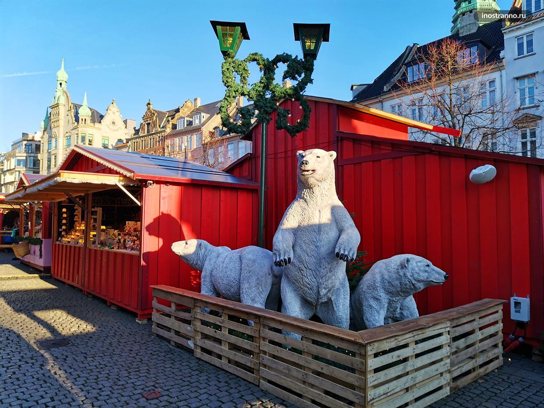Рождественский рынок в Дании