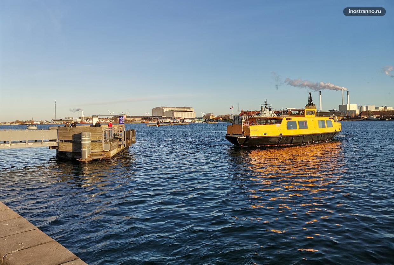 Водный автобус в Копенгагене