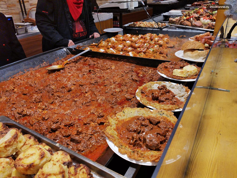 Венгерские мясные блюда