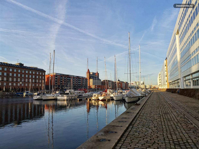 Порт Лангелиние в Копенгагене