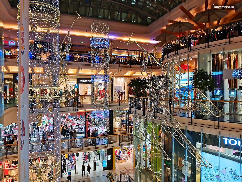 Торговый центр Palladium в Праге