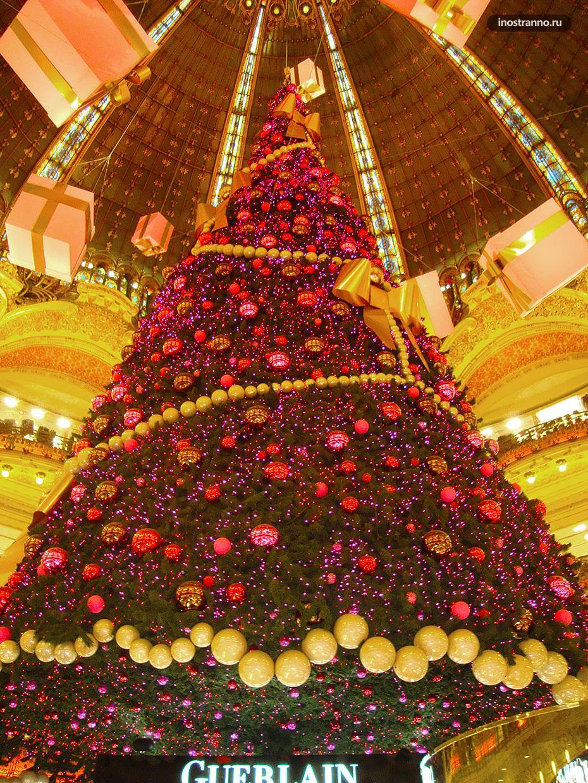 Рождественская ярмарка в Париже и самая красивая елка в мире