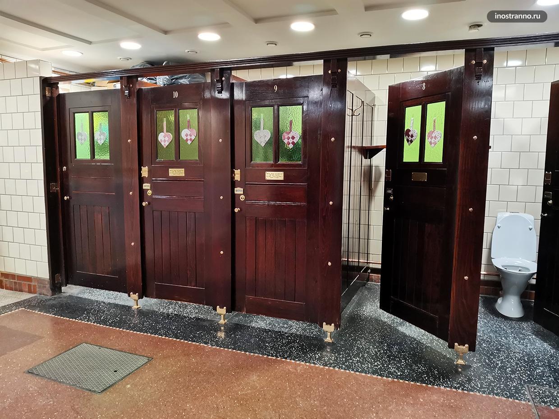 Общественный туалет в Дании