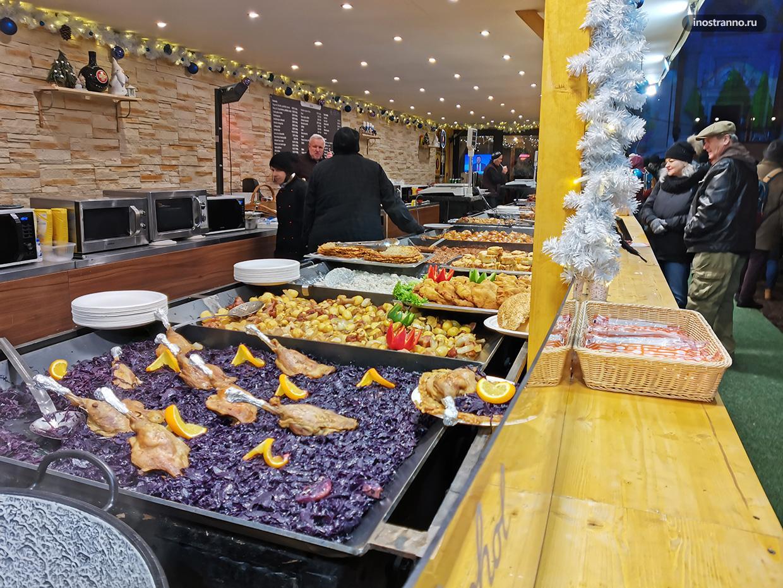 Что попробовать на рождественским рынке в Будапеште