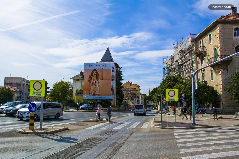 Центральная улица Сплит