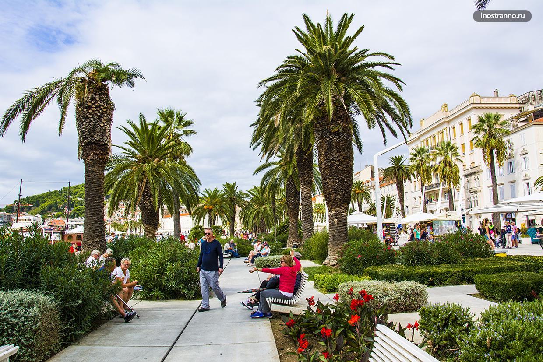 Курортный город в Хорватии