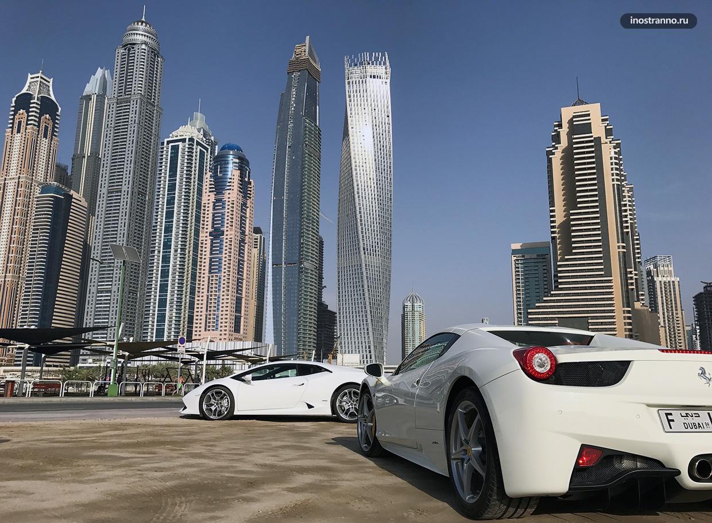 Аренда авто в Дубае и аэропорту