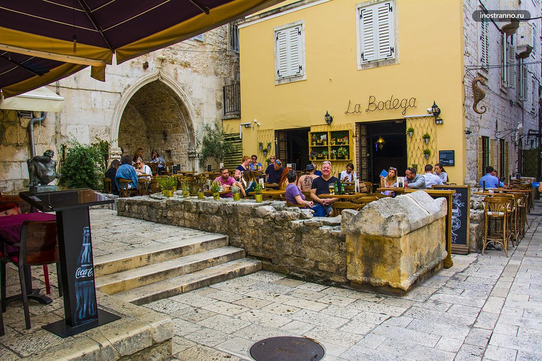 Старый город в Хорватии