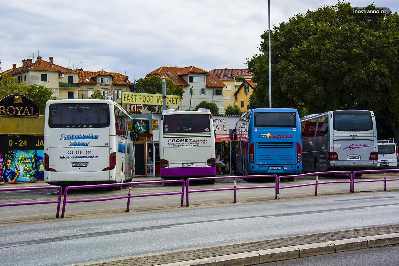Автовокзал в Сплите