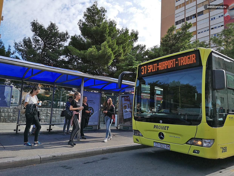 Сплит автобус