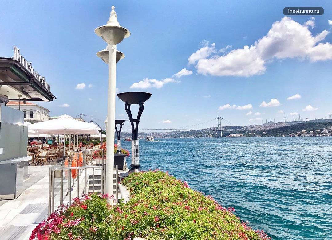 Отель Four Seasons Hotel Bosphorus с лучшей смотровой