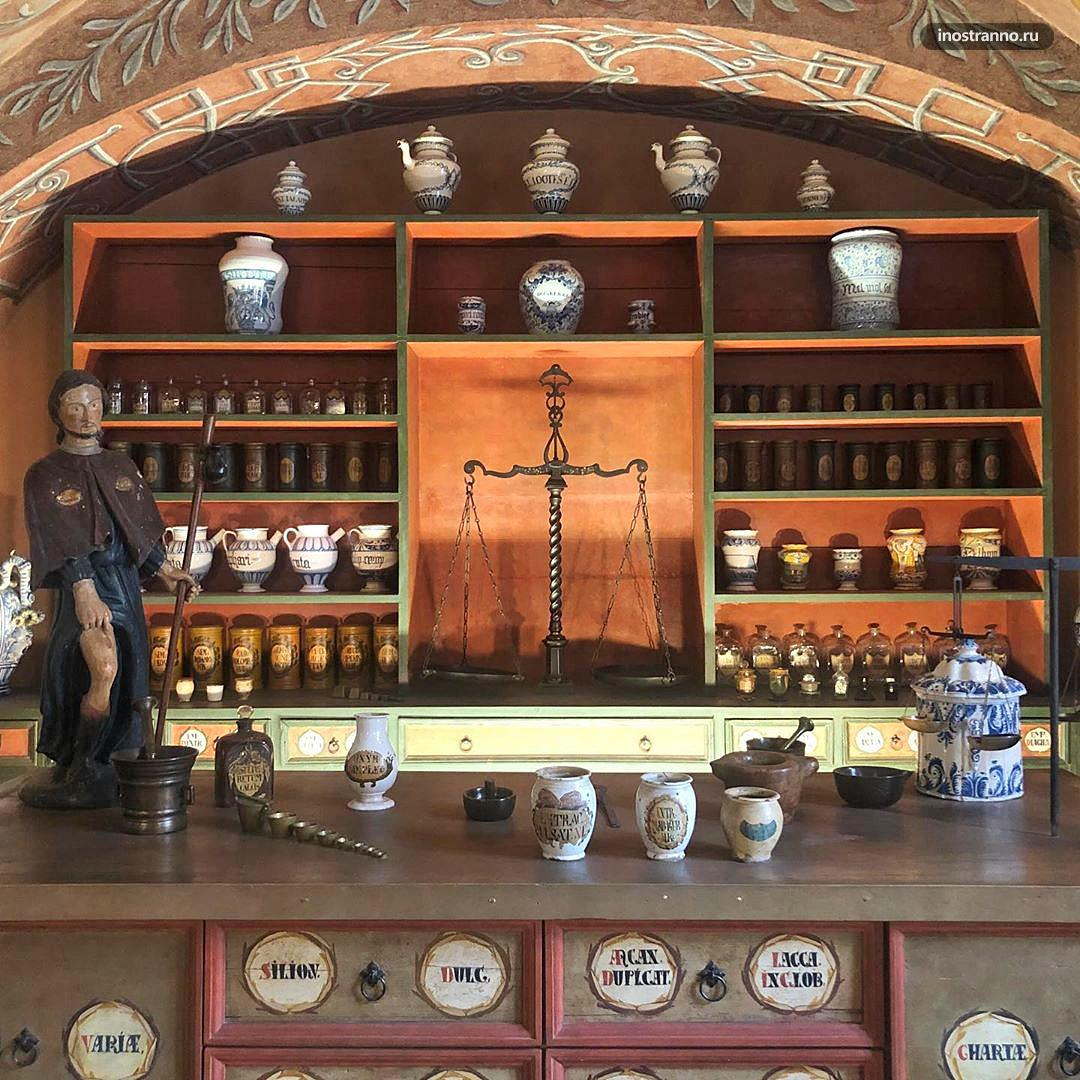 Музей Фармацевтики и алхимиков в Будапеште