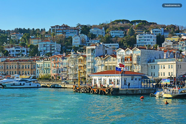 Арнавуткёй красивый район Стамбула с набережной