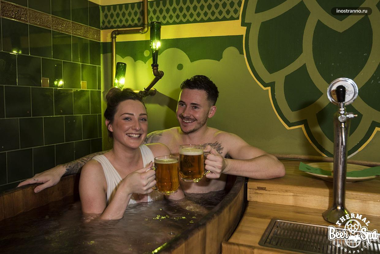 Пивные ванны в Будапеште интересный досуг