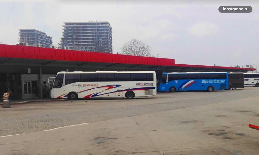 Центральный автовокзал Белграда