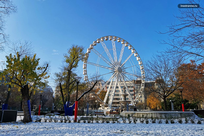 Колесо обозрения Будапештский Глаз