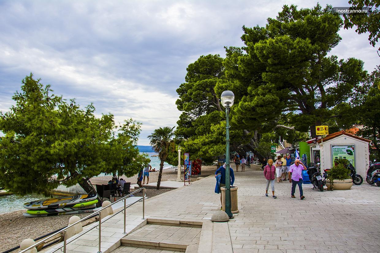 Хорватский город Брела