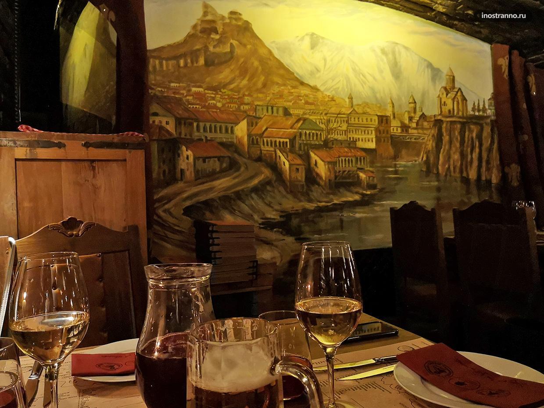 Ресторан Грузия в Праге с живой музыкой