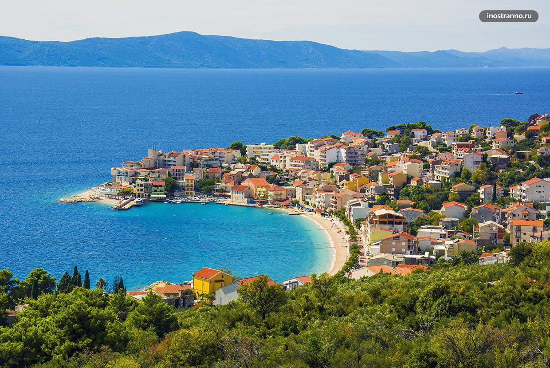 Хорватский курорт Игране