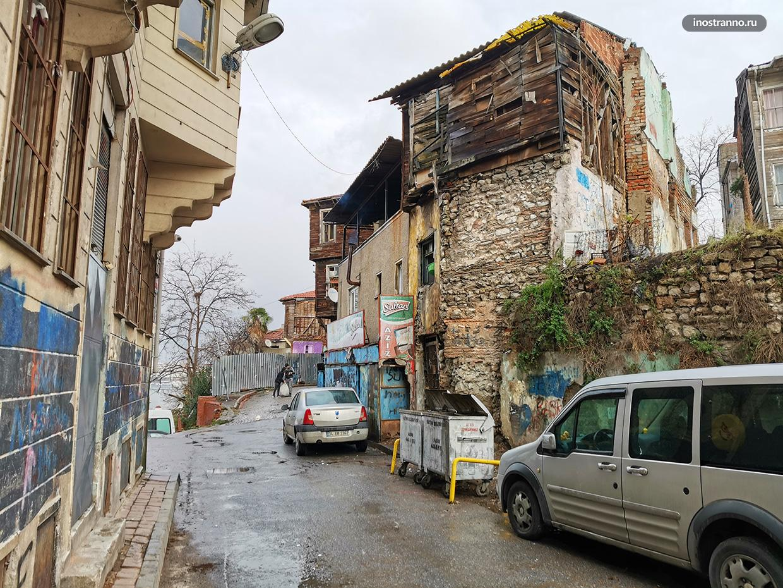 Стамбул старые дома