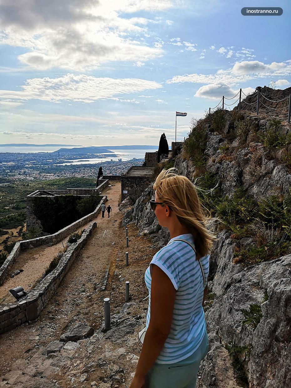 Обзор крепости Сплит