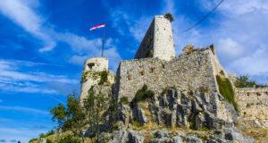 Крепость Клис в окрестностях Сплита