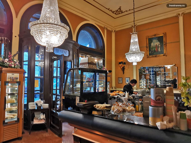 Красивая кофейня Muvesz Kavehaz