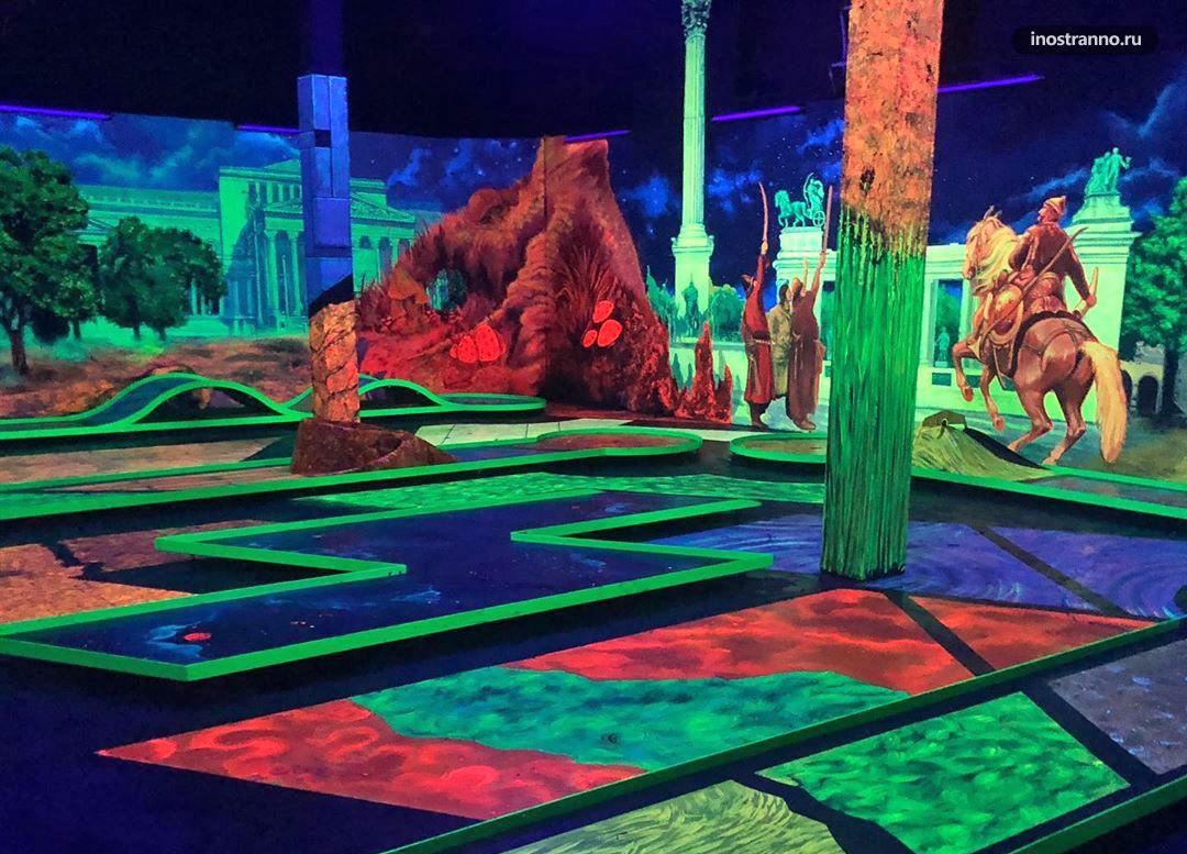Neonis 3D Blacklight Minigolf