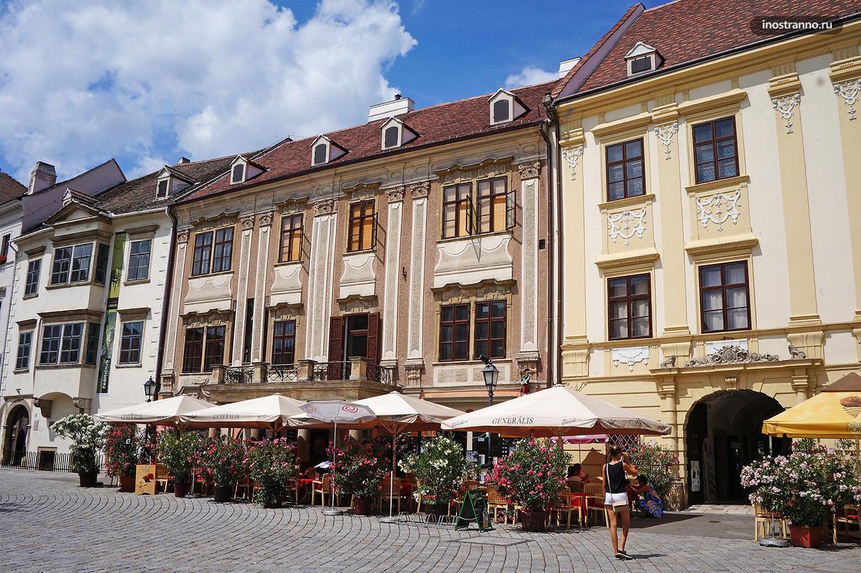 Шопрон интересный город в Венгрии недалеко от Австрии