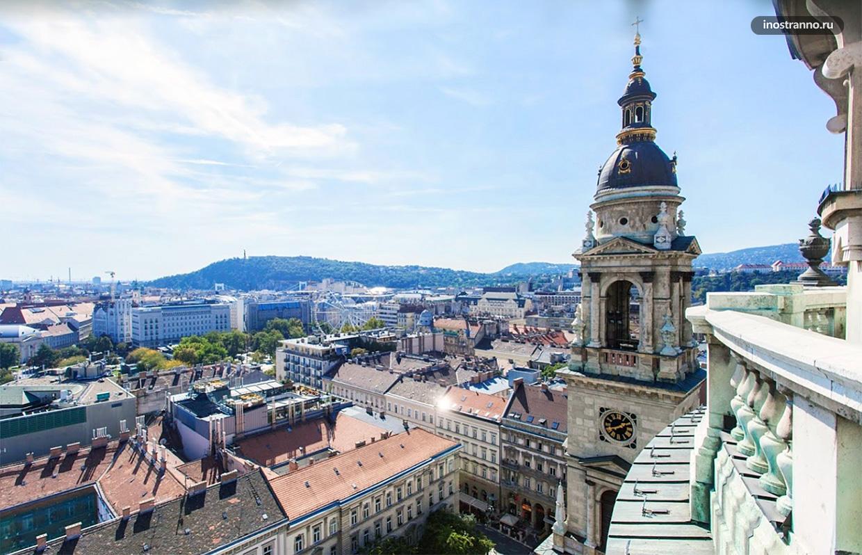 Базилика Святого Стефана лучшая смотровая площадка Будапешта