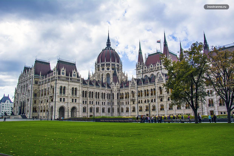 Экскурсия по Венгерскому парламенту