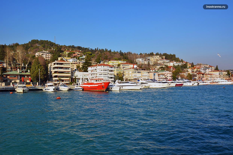 Яхты в Стамбуле