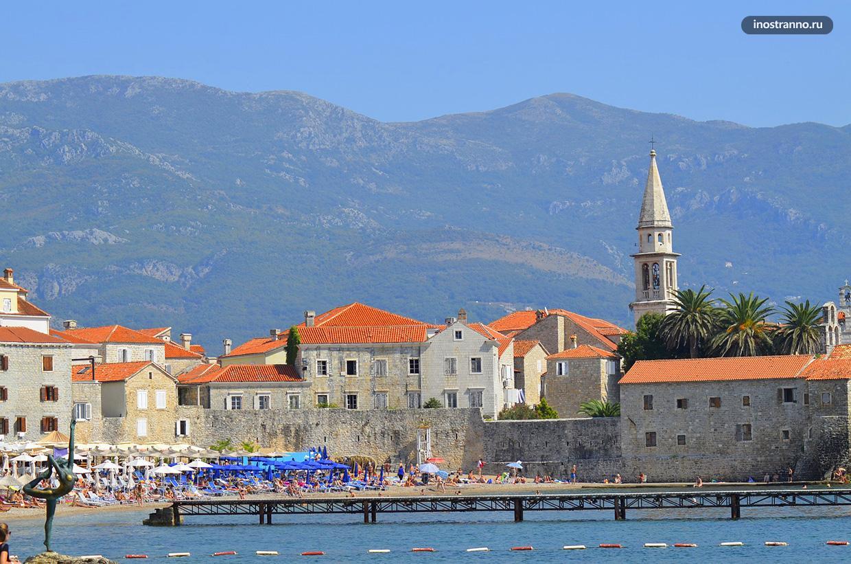 Будва лучший курорт для отдыха в Черногории
