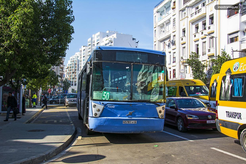 Городские автобусы в Касабланке